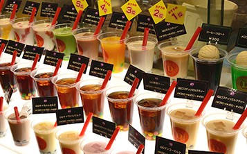SMALL MARKET@DELI – all kinds of juice and ice cream!