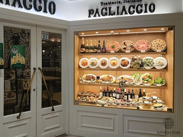 Meals, located in the center of a display window are the most popular among visitors. That's why the most expensive meals are usually located in the center of the mid shelf.
