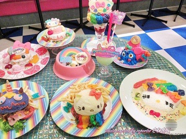 Fairy-style food elements delight children
