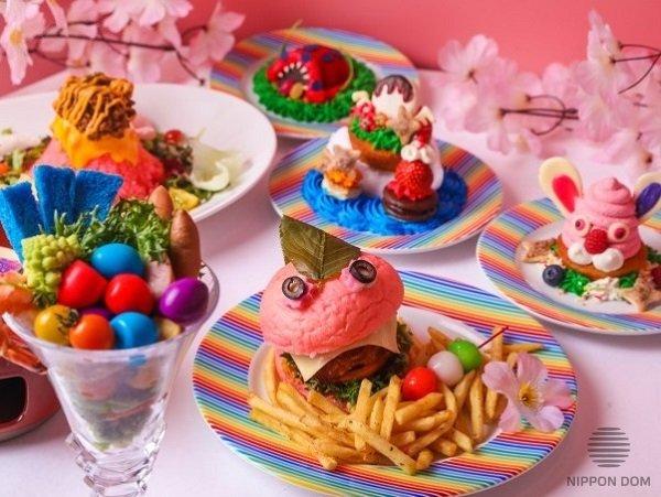 Яркие продукты придают блюдам особую привлекательность