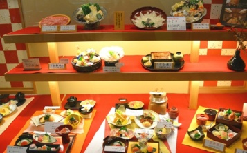 "The company ""Nippon Dom"" takes orders for the manufacture of models of dishes from photographs."