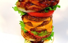 Burger Tower replica