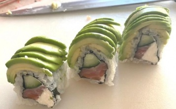 Dragon roll.
