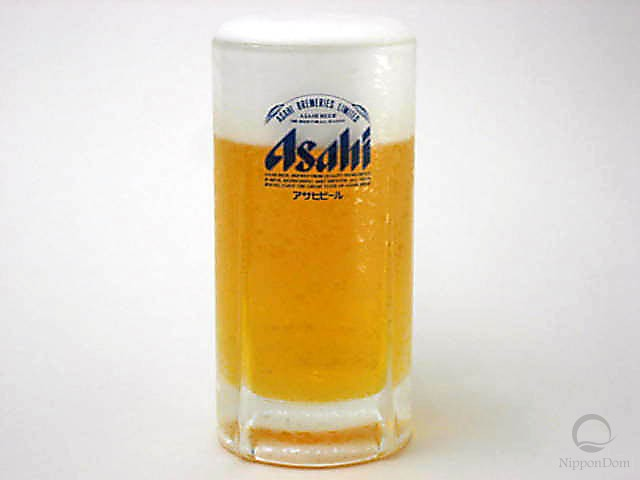 "Glass of beer ""Asahi""-1"