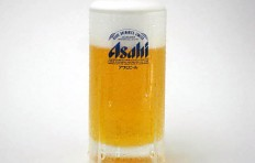 "Glass of beer ""Asahi""-2"
