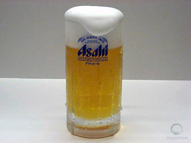 "Glass of beer ""Asahi""-4"