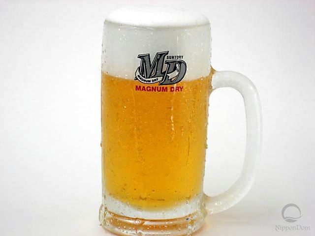 "Mug of beer ""Magnum Dry""-2"