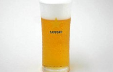 "Glass of beer ""Sapporo"" (240 ml)-1"