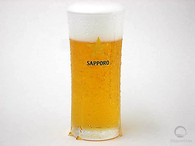 "Glass of beer ""Sapporo"" (240 ml)-2"