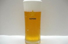 "Glass of beer ""Sapporo"" (300 ml)"