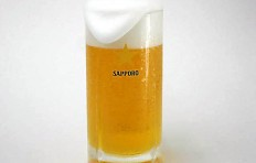 "Glass of beer ""Sapporo"" (435 ml)"