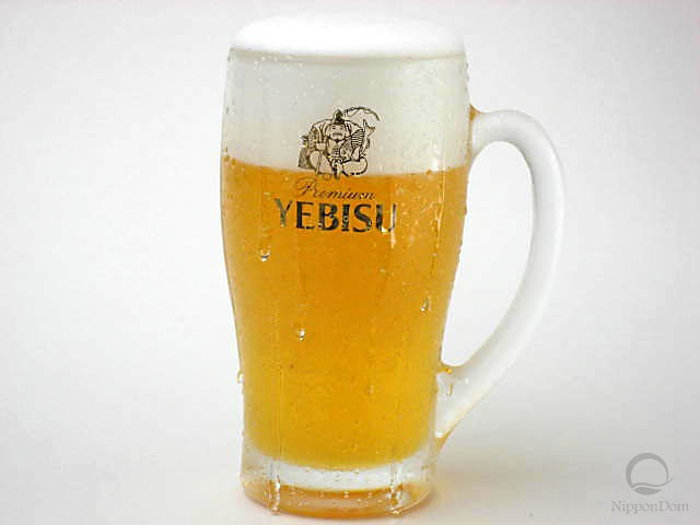 "Mug of beer ""Yebisu""-2"