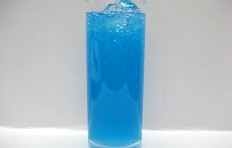 Blue Hawaii soda