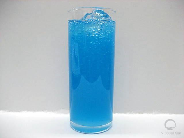 Blue Hawaii soda