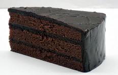 Муляж шоколадного торта-1