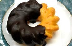Муляж пончика «Шоколадный цветок»