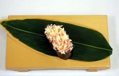 Муляж салата из крабов