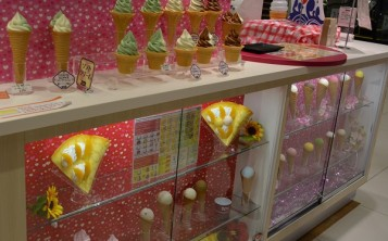 """Dessert Paradise"". Display window."