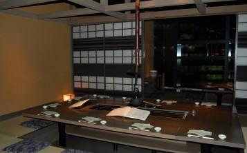 Дизайн интерьера японского ресторана характеризуется минимализмом