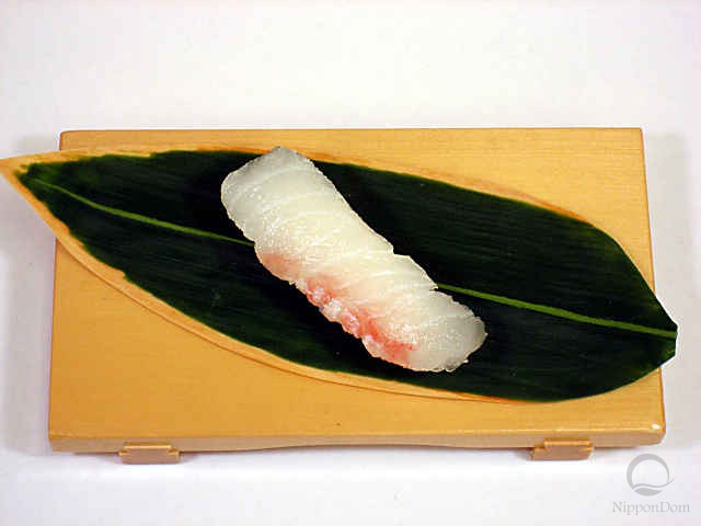 Replica of sushi Flounder (2)
