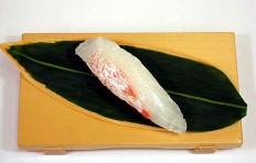 Replica of sushi Flounder (4)