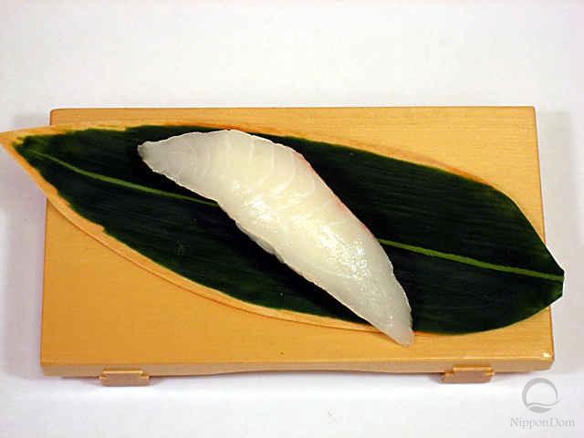Replica of sushi Flounder (5)