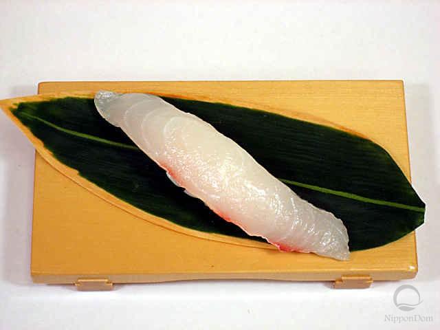 "Муляж суши ""камбала"" (6)"
