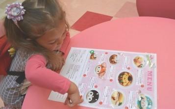 Красочное меню для ребенка