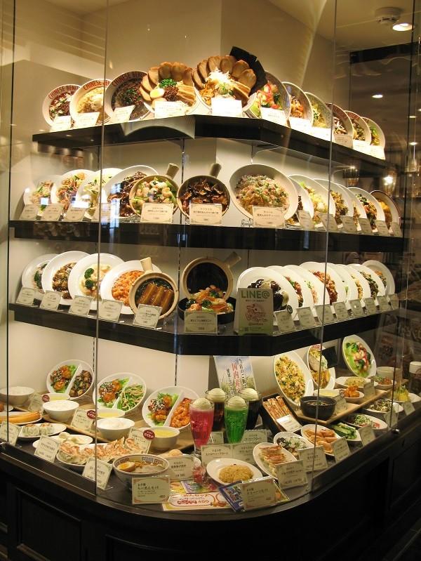 Даже фотография витрины китайского ресторана вызывает аппетит