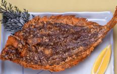 Fried flatfish