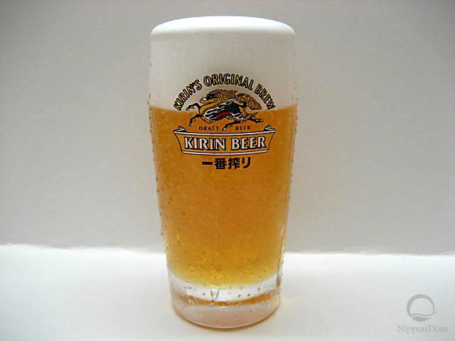 "Glass of beer ""Kirin"" (330 ml)-1"