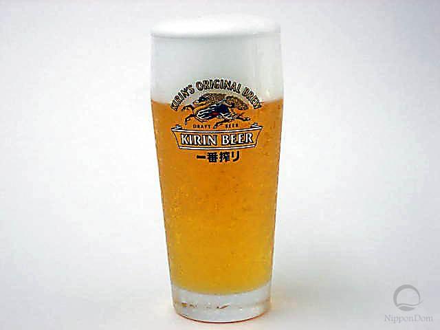 "Glass of beer ""Kirin"" (330 ml)-4"