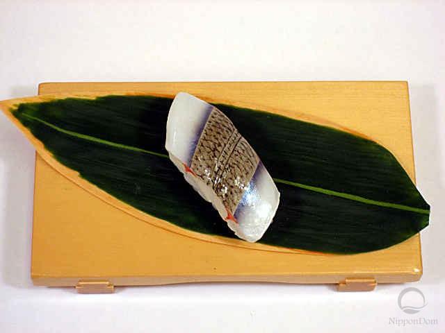 Replica of sushi Halfbeak-2