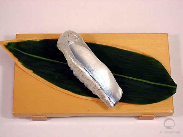 Replica of sushi Halfbeak-3