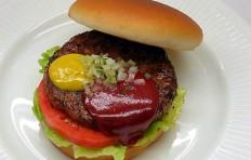Муляж гамбургера-1