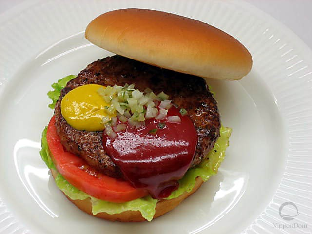 Hamburger replica