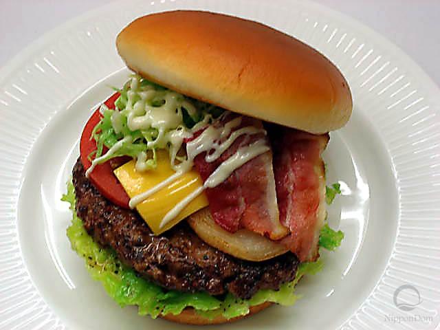 Big MIX hamburger replica