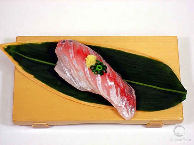 Replica of sushi Horse mackerel (3)