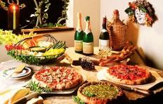Оформление интерьера пиццерии