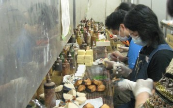Производство японских муляжей блюд и продуктов
