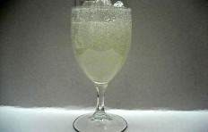 Lemonade in a glass