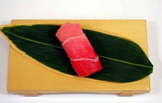 "Replica of sushi ""Tuna medium fat (2)"""