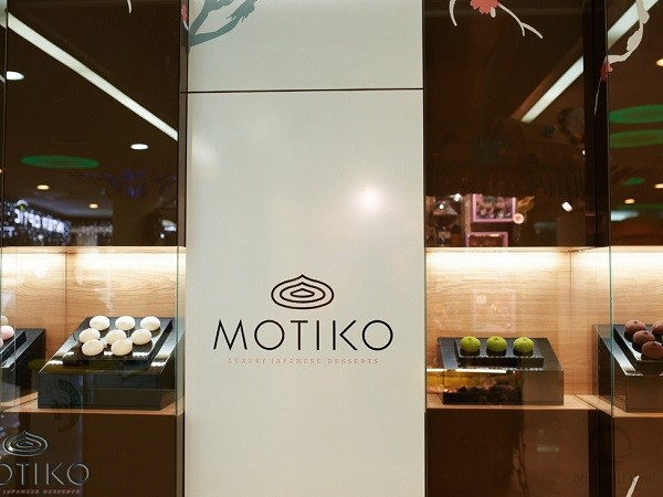 "A brand shop of Japanese desserts ""Motiko"" has opened in the shoppong mall Atrium"