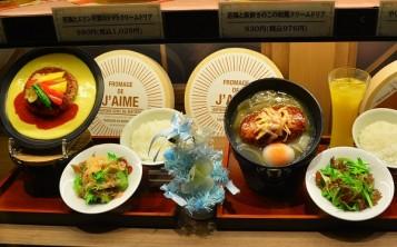 Муляжи на витрине ресторана дают исчерпывающую информацию о блюдах меню