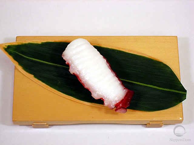 """Replica of sushi """"Octopus (2)"""""""