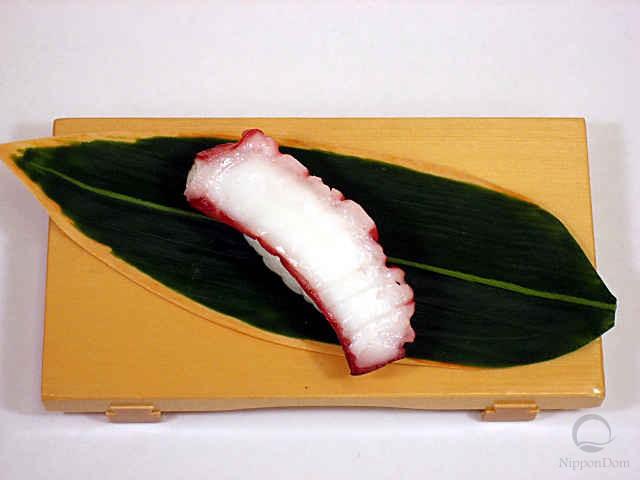 """Replica of sushi """"Octopus (4)"""""""