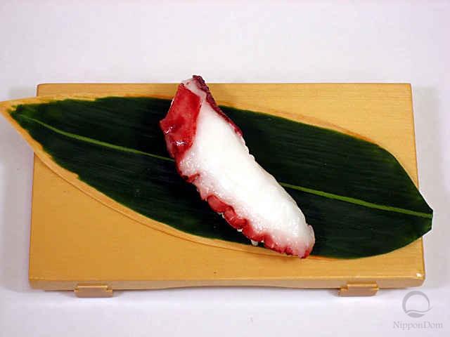 """Replica of sushi """"Octopus (5)"""""""