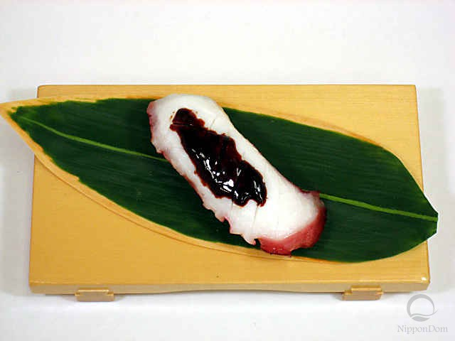 "Replica of sushi ""Octopus (6)"""