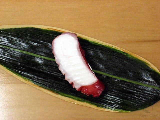 """Replica of sushi """"Octopus (7)"""""""