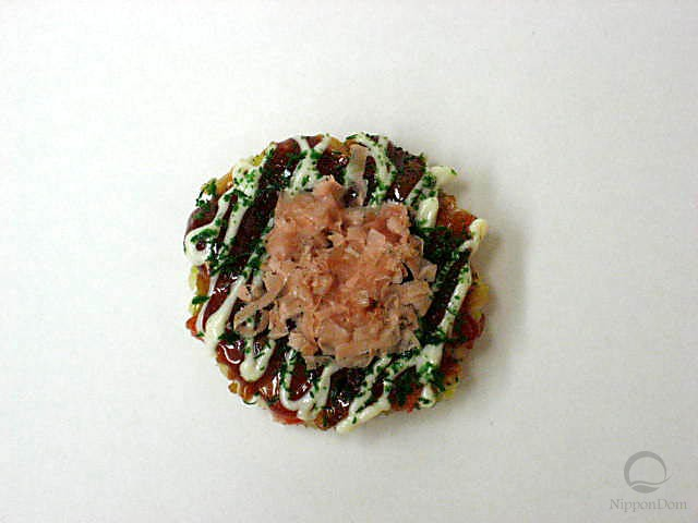 Okonomiyaki w. bonito & mayo